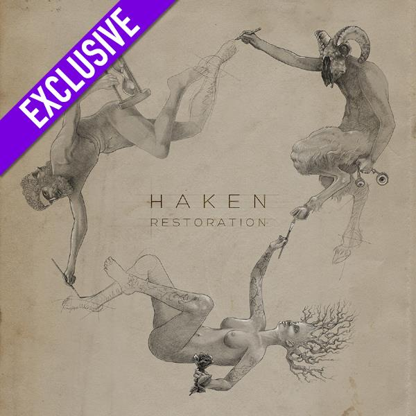 Haken Restoration Ep Transp Orange Lp Cd