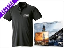 Genesis Revisited II: Selection + Poloshirt (Black) + signed Litho